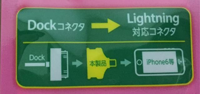 ライトニング変換アダプタ図