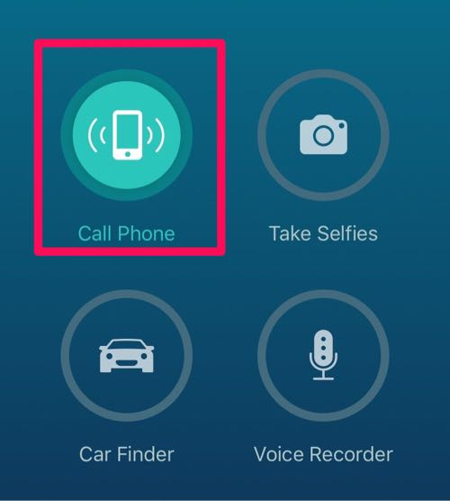 アラーム鳴らすならcall phone