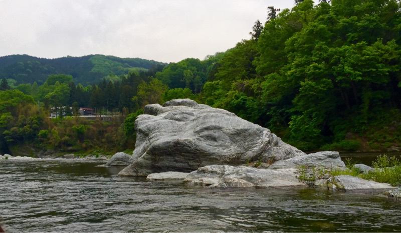最後の大岩
