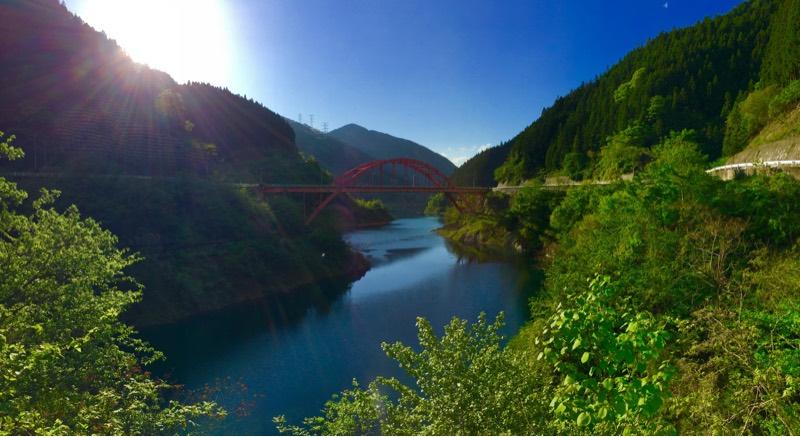 浦山ダムの絶景