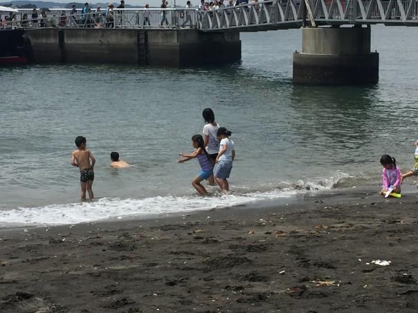 砂浜バーベキュー