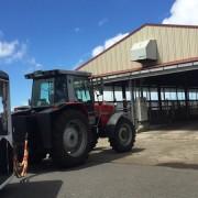マザー牧場のトラクタートレイン
