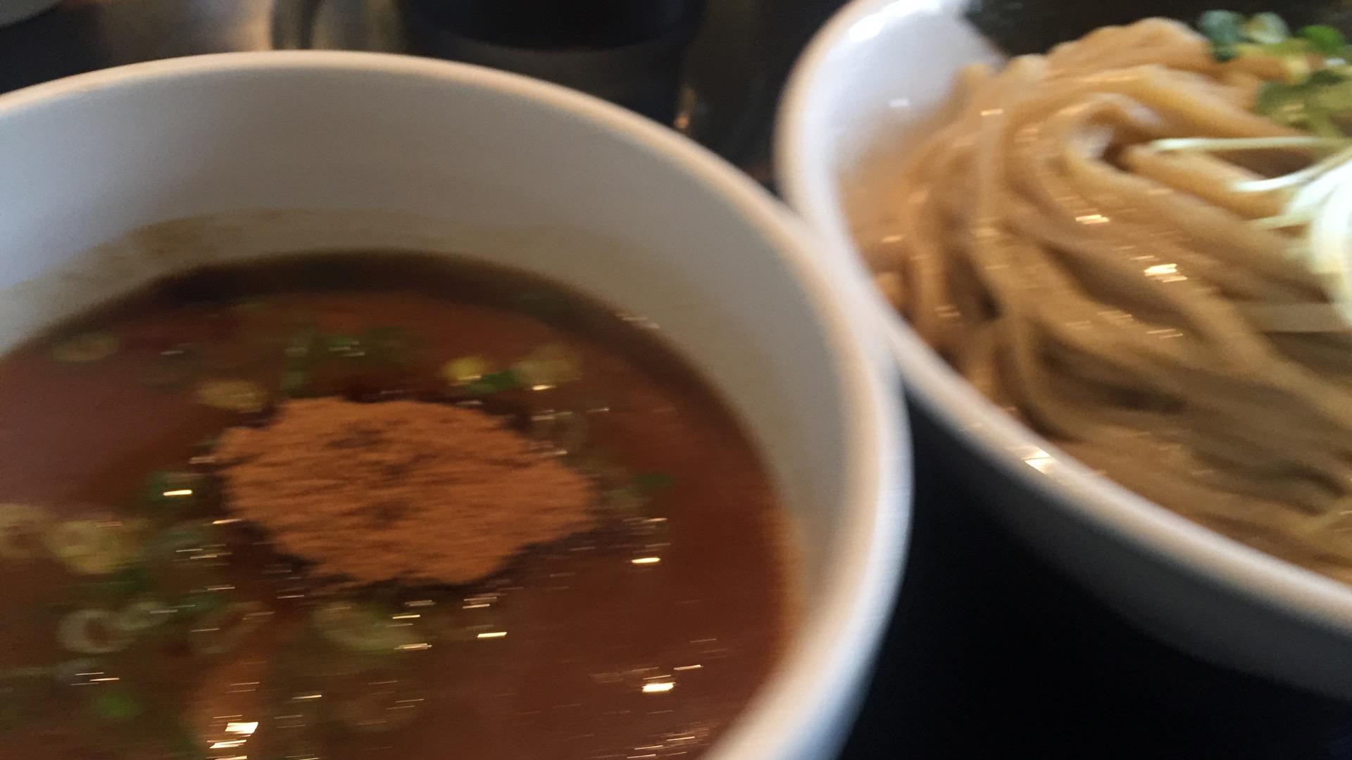 ブラウンつけ麺画像