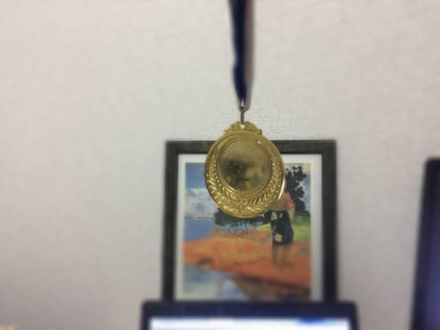 金メダルで催眠術