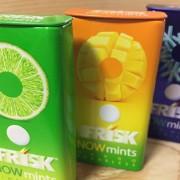 フリスクナウミンツ3種類