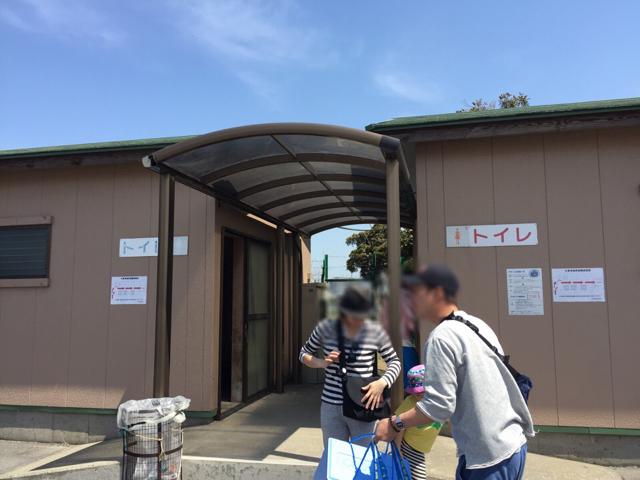 中の島潮干狩り場トイレ