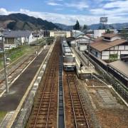 聖地巡礼飛騨古川駅