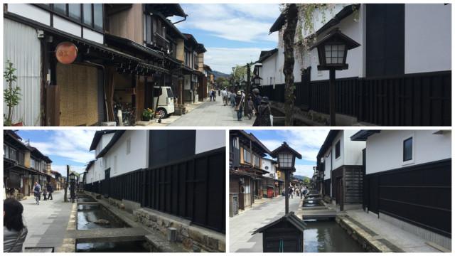 瀬戸川と白土土蔵街