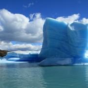冷たく涼しい北極の氷