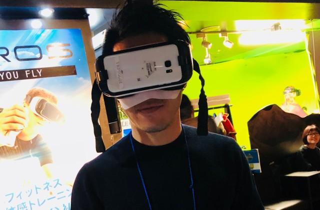 VRカメラ装着