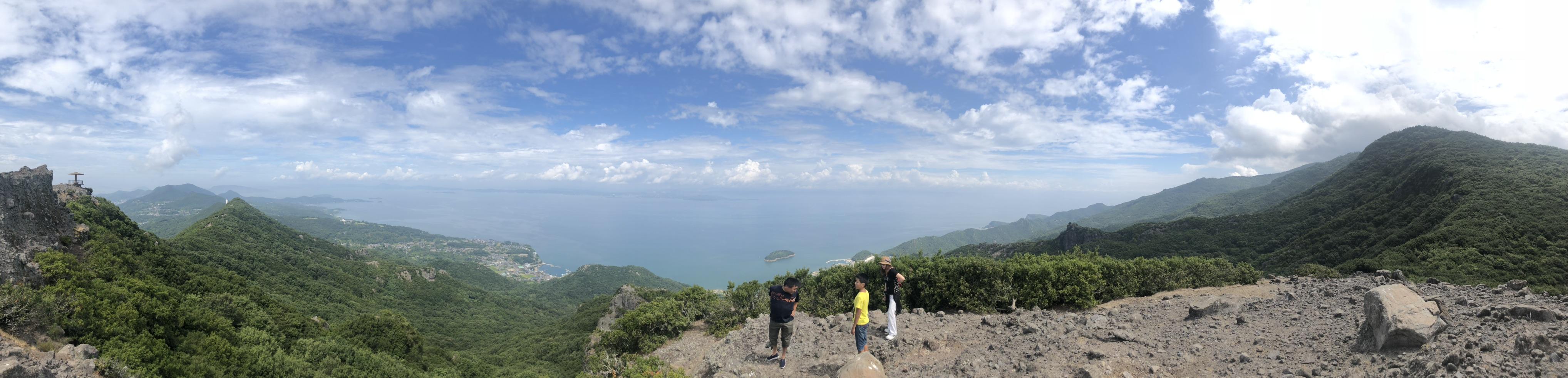 小豆島のお猿の国からの絶景