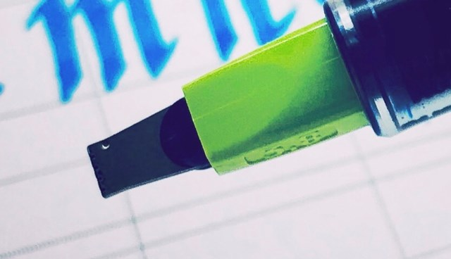 パイロットパラレルペンのペン先